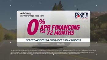 AutoNation Chrysler Jeep Dodge Ram July 4th Event TV Spot, 'Freedom From Payments' - Thumbnail 5