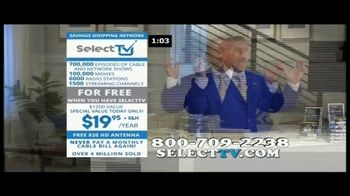 SelectTV TV Spot, 'Cable Bills Driving You Crazy' - Thumbnail 8