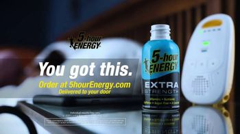 5-Hour Energy Extra Strength TV Spot, 'Dad's Turn: Delivered to Your Door' - Thumbnail 5