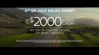 Nissan 4th of July Sales Event TV Spot, 'Welcome Aboard' [T2] - Thumbnail 5