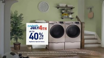 Lowe's TV Spot, '4th of July: 40 Percent Off Samsung Laundry Pair' - Thumbnail 4