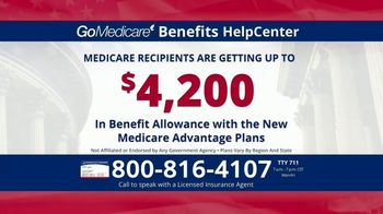 GoMedicare Benefits HelpCenter TV Spot, 'More Benefits: Health Insurance Card'