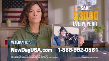 NewDay USA Streamline REFI TV Spot, 'Helping Veteran Families' - Thumbnail 3