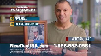 NewDay USA Streamline REFI TV Spot, 'Helping Veteran Families' - Thumbnail 6