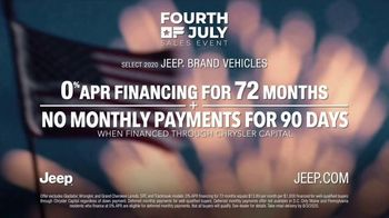 Jeep Fourth of July Sales Event TV Spot, 'Big Picture' [T2] - Thumbnail 9