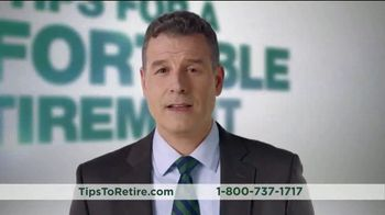 Fisher Investments TV Spot, \'99 Tips For A Comfortable Retirement\'