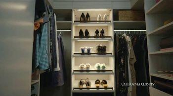 California Closets TV Spot, 'Real Customers'