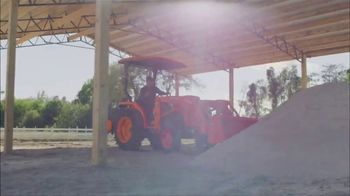 Kubota L Series TV Spot, 'Power and Dependability: $0 Down' - Thumbnail 5