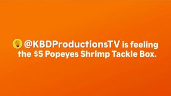 Popeyes Shrimp Tackle Box TV Spot, 'Feelin' It'