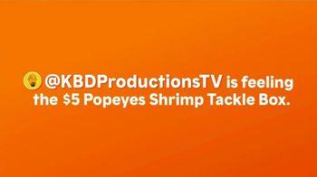 Popeyes Shrimp Tackle Box TV Spot, 'Feelin' It' - Thumbnail 1