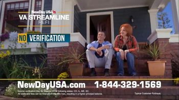NewDay USA VA Streamline Refi TV Spot, 'Spouse of a Military Vet' - Thumbnail 4