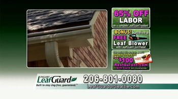 LeafGuard of Seattle Spring Blowout Sale TV Spot, 'Spring Showers' - Thumbnail 8