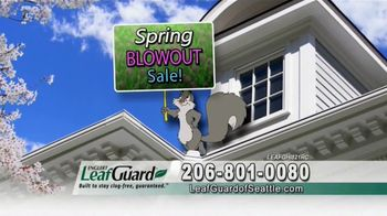 LeafGuard of Seattle Spring Blowout Sale TV Spot, 'Spring Showers' - Thumbnail 5