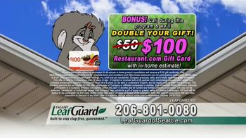 LeafGuard of Seattle Spring Blowout Sale TV Spot, 'Spring Showers' - Thumbnail 7