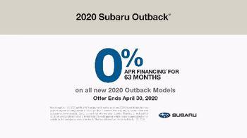 2020 Subaru Outback TV Spot, 'Adventurous Heart' [T2] - Thumbnail 9