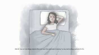 AllerLife Sleep TV Spot, 'Bedtime Blahs'