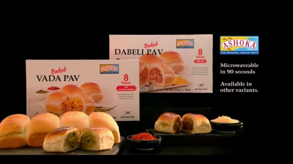 Ashoka Foods Pav TV Commercial, 'Vada & Dabelli'