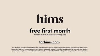 Hims TV Spot, 'Hair Loss Treatment: Free First Month' - Thumbnail 7