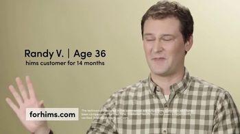 Hims TV Spot, 'Hair Loss Treatment: Free First Month' - Thumbnail 1