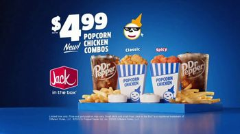 Jack in the Box Popcorn Chicken Combos TV Spot, 'When Drama Pops Off: $4.99' - Thumbnail 10