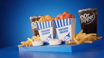 Jack in the Box Popcorn Chicken Combos TV Spot, 'When Drama Pops Off: $4.99' - Thumbnail 8