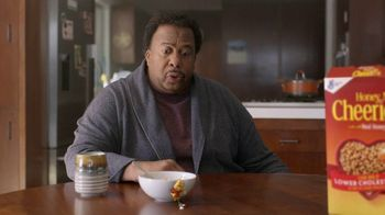 Honey Nut Cheerios TV Spot, 'Buzz Meets Leslie' Featuring Leslie David Baker