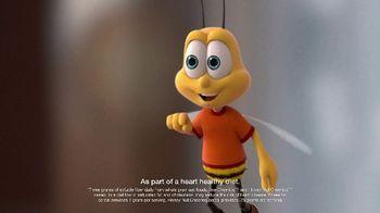 Honey Nut Cheerios TV Spot, 'Buzz Meets Leslie' Featuring Leslie David Baker - Thumbnail 4