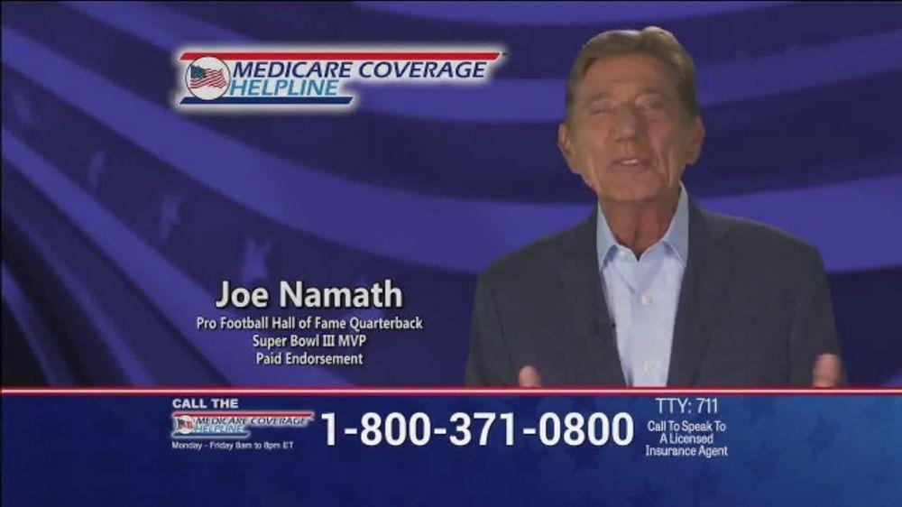 Medicare Coverage Helpline TV Commercial, 'Uncertain Times' Featuring Joe Namath
