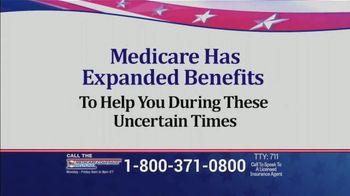 Medicare Coverage Helpline TV Spot, 'Uncertain Times' Featuring Joe Namath - Thumbnail 2