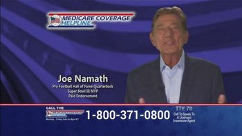 Medicare Coverage Helpline TV Spot, 'Uncertain Times' Featuring Joe Namath - 1297 commercial airings