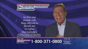 Medicare Coverage Helpline TV Spot, 'Uncertain Times' Featuring Joe Namath - Thumbnail 5