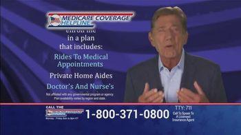Medicare Coverage Helpline TV Spot, 'Uncertain Times' Featuring Joe Namath - Thumbnail 6