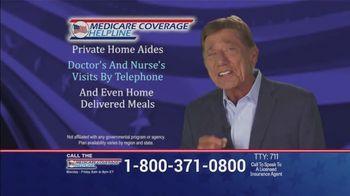 Medicare Coverage Helpline TV Spot, 'Uncertain Times' Featuring Joe Namath - Thumbnail 7