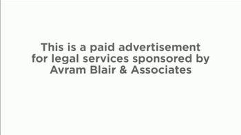 Avram Blair & Associates TV Spot, 'Talcum Powder: Ovarian Cancer' - Thumbnail 1