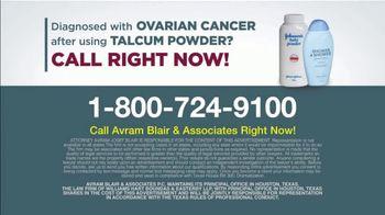 Avram Blair & Associates TV Spot, 'Talcum Powder: Ovarian Cancer' - Thumbnail 10