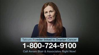 Avram Blair & Associates TV Spot, 'Talcum Powder: Ovarian Cancer' - Thumbnail 4