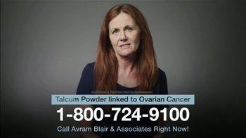 Avram Blair & Associates TV Spot, 'Talcum Powder: Ovarian Cancer' - Thumbnail 5