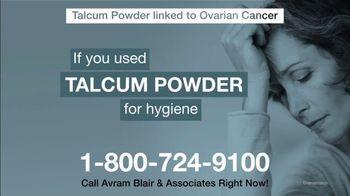 Avram Blair & Associates TV Spot, 'Talcum Powder: Ovarian Cancer' - Thumbnail 6
