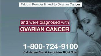 Avram Blair & Associates TV Spot, 'Talcum Powder: Ovarian Cancer' - Thumbnail 7