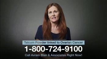 Avram Blair & Associates TV Spot, 'Talcum Powder: Ovarian Cancer'