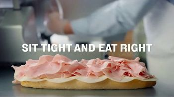 Jersey Mike's TV Spot, 'Sit Tight and Eat Right'