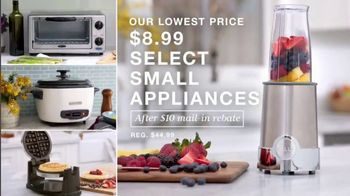 Macy's TV Spot, 'Lowest Prices of the Season: Small Appliances, Damask Bedding and Suits' - Thumbnail 1