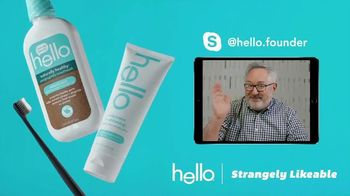 Hello Products TV Spot, 'Strangely Skypeable' - Thumbnail 7