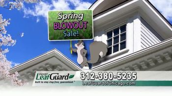 LeafGuard of Chicago Spring Blowout Sale TV Spot, 'Not a Cover' - Thumbnail 9
