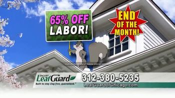 LeafGuard of Chicago Spring Blowout Sale TV Spot, 'Not a Cover' - Thumbnail 5