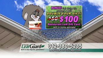 LeafGuard of Chicago Spring Blowout Sale TV Spot, 'Not a Cover' - Thumbnail 7