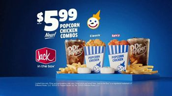 Jack in the Box Popcorn Chicken Combos TV Spot, 'Irresistible' - Thumbnail 10