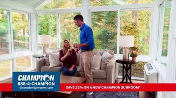 Champion Windows TV Spot, 'Sunroom: 25 Percent Off' - Thumbnail 2