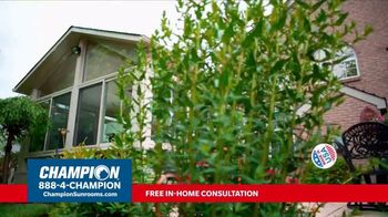 Champion Windows TV Spot, 'Sunroom: 25 Percent Off' - Thumbnail 5