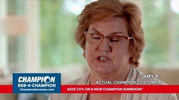 Champion Windows TV Spot, 'Sunroom: 25 Percent Off' - Thumbnail 8